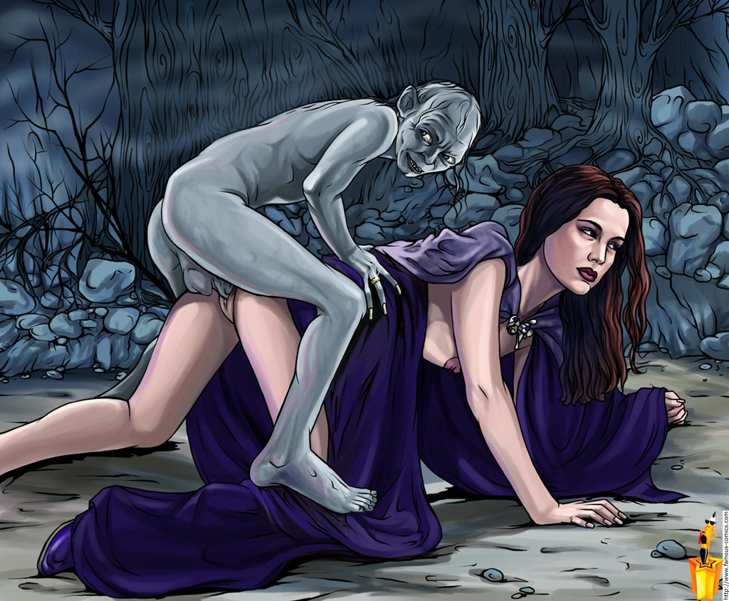 lord of the rings porn comics