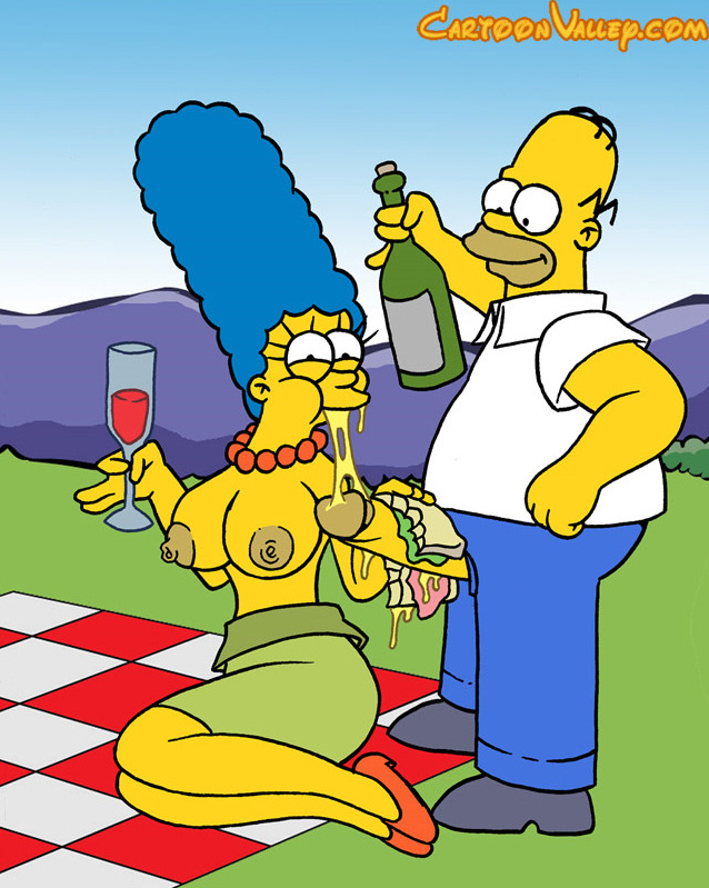 marge simpson gives a blowjob