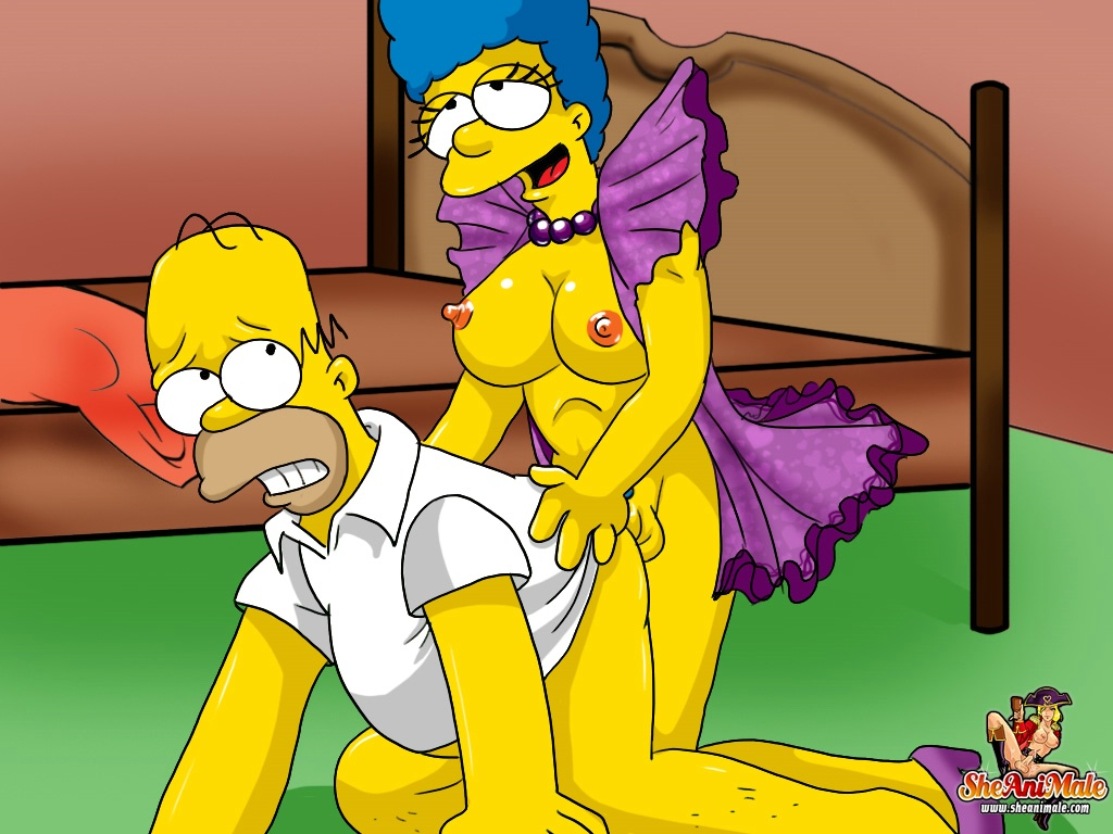 the simpsons futanari